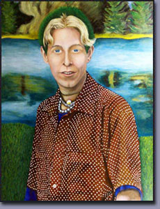 Artist: James Homer Brown: Portrait of Boy with Green Hair